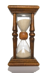 Hourglass front view