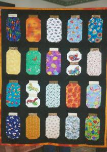 Sean's Bug Jar Quilt